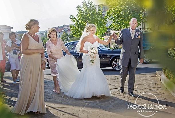 свадьба в свети влас марина диневи